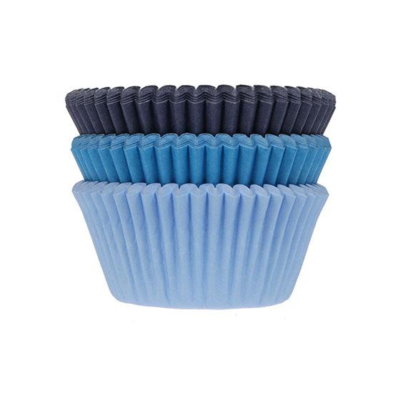Cupe Cupcakes Mix Albastru x 75