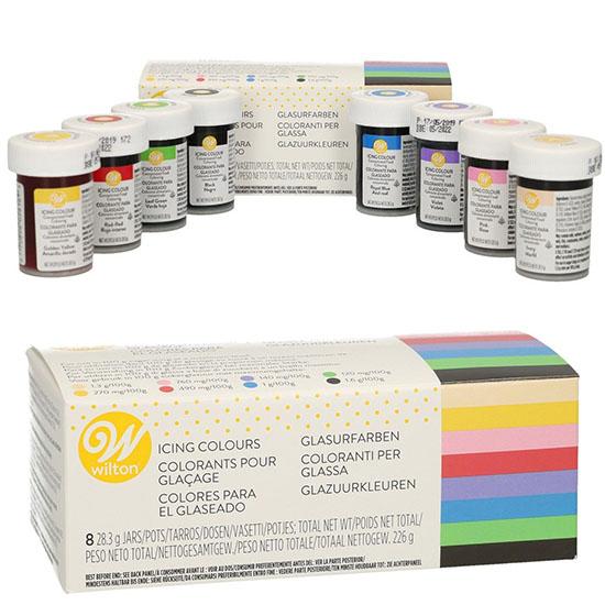 Kit Coloranti Icing Setx8
