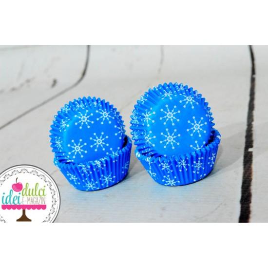 Mini Cupe Cupcakes Fulgi x 100buc
