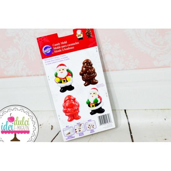 Matrita Ciocolata Ornamente Mos Craciun