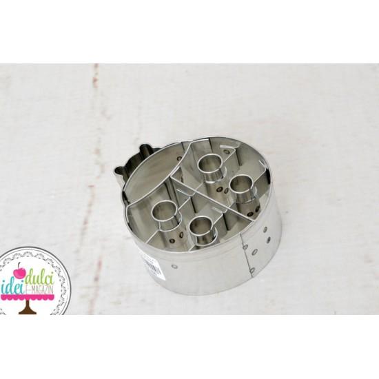 Decupator Metalic Buburuza 6cm