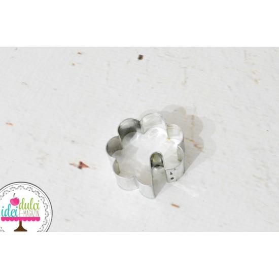 Decupator Metalic pentru Ceasca Floare 45x45mm