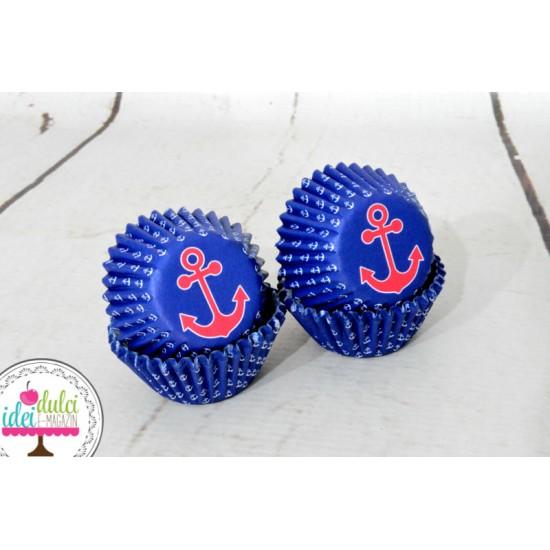 Mini Cupe Cupcakes Ancora x 100buc