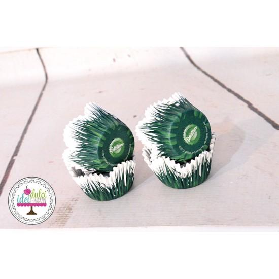 Mini Cupe Cupcakes Iarba x 48buc