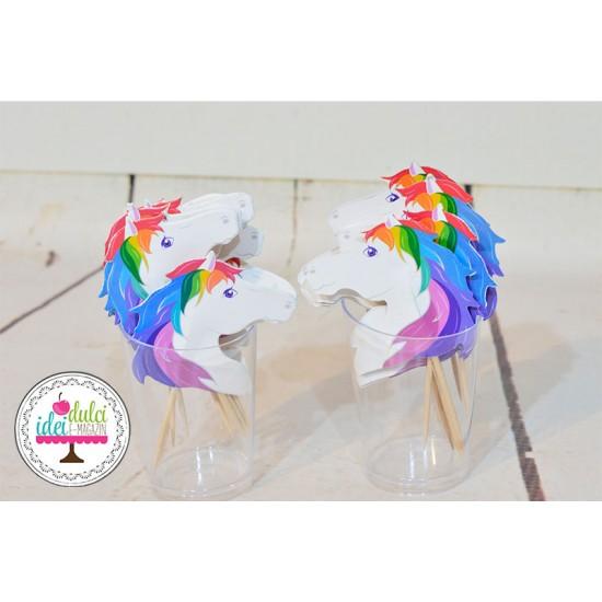 Toppers Unicorni Set x 20buc