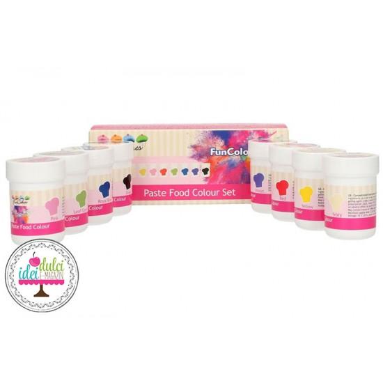 Kit Coloranti Pasta Set x 8buc