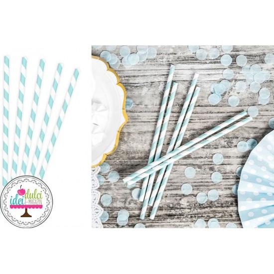 Paie Hartie Bleu & Dungi x 10buc