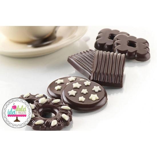 Silicon Choco Biscuiti