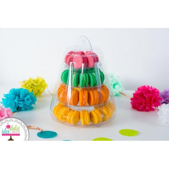 Mini Piramida Macarons 20cm