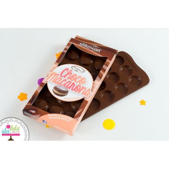 Silicon Macarons din Ciocolată