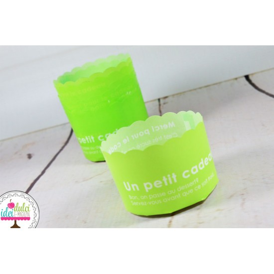 Cupa Cupcake Verde