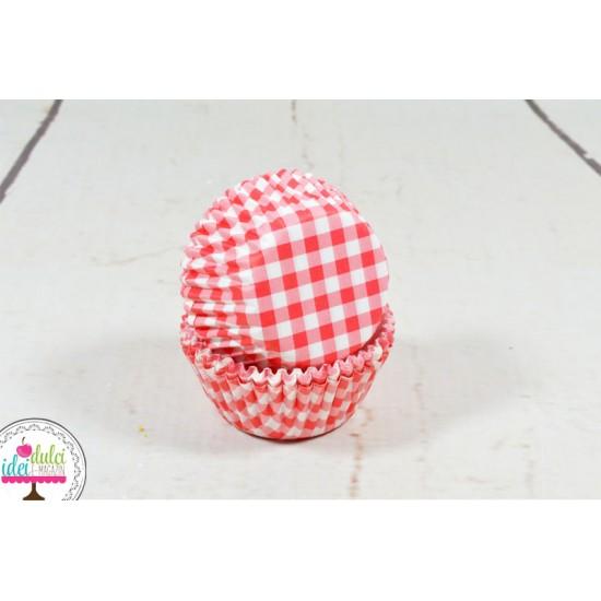 Mini Cupe Carouri Rosii x 60buc
