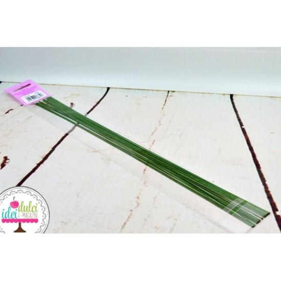 Sarma Flori Verde Inchis 22Gauge x 20cm