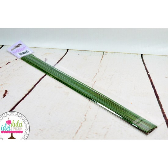 Sarma Flori Verde Inchis 24Gauge x 50cm