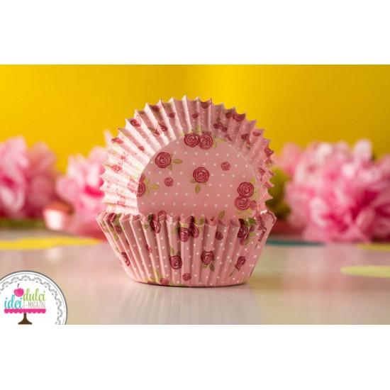 Cupe Cupcakes Trandafiri x 60buc