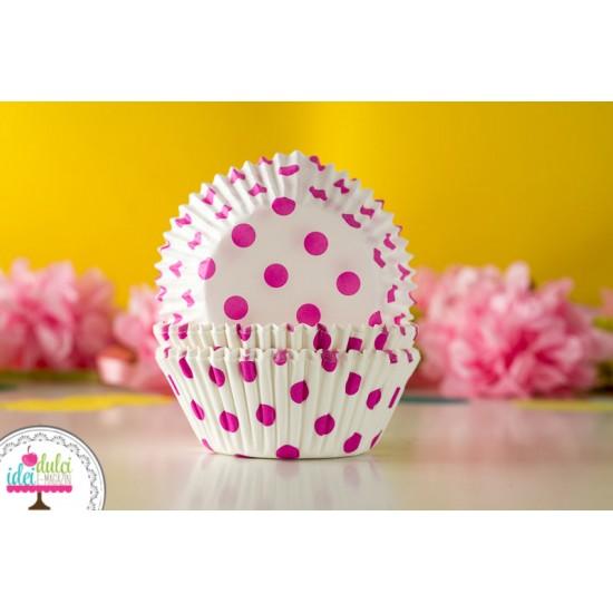 Cupe de copt Buline White/Hot pink