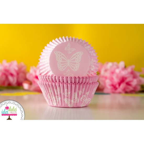 Cupe de copt Butterfly Rose