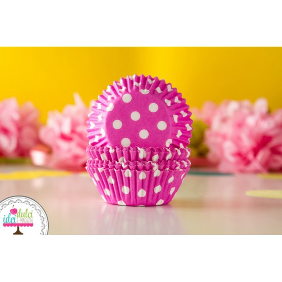 Mini Cupe de Copt Buline Pink x 60buc