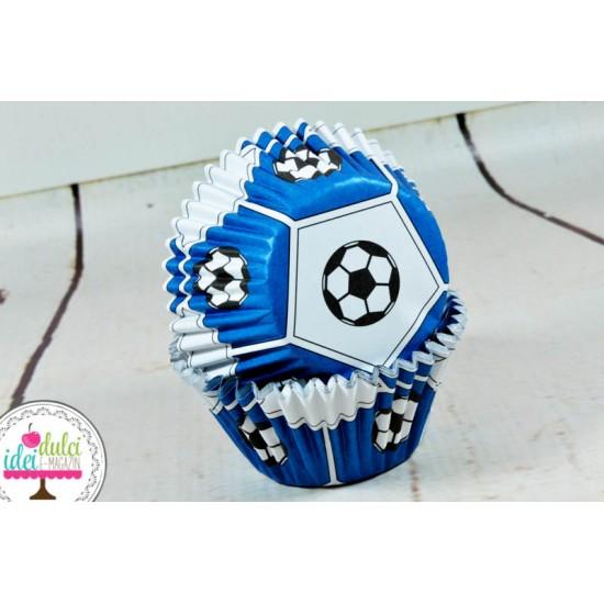Cupe Cupcakes Fotbal (cu folie) x 30buc