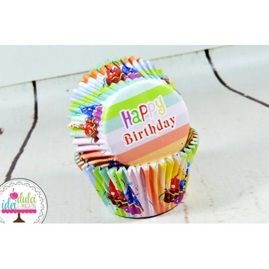 Cupe Cupcakes Palarii (cu folie) x 30buc