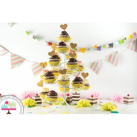 Suport Cupcake Spirală