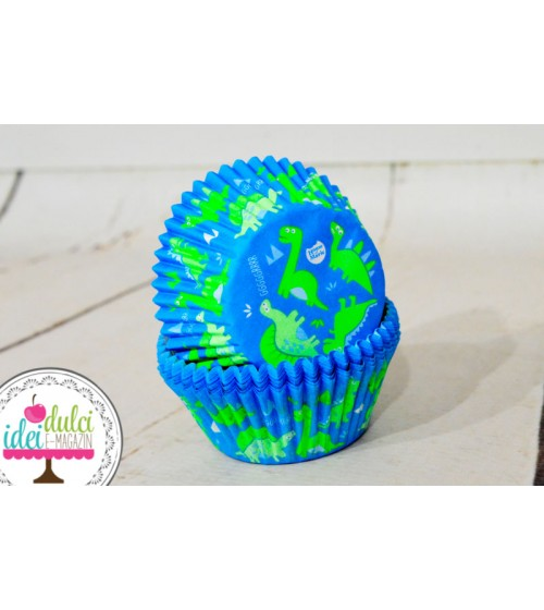 Cupe Cupcakes Dino x50