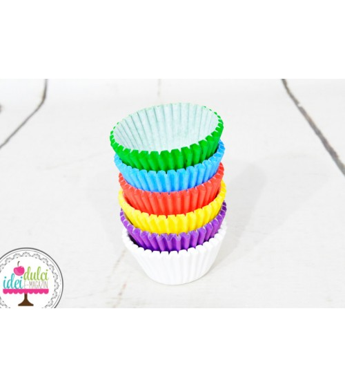 Mini Cupe Cupcakes Colormix Set x150