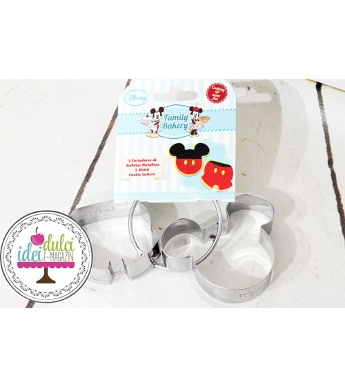 Decupator Metalic Mickey Set x2