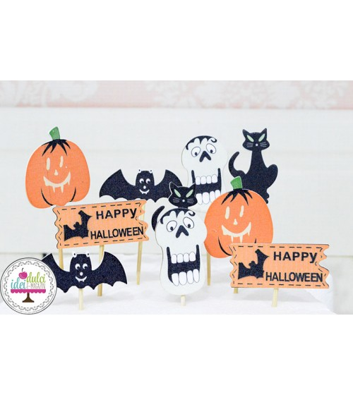 Set decor Halloween x10