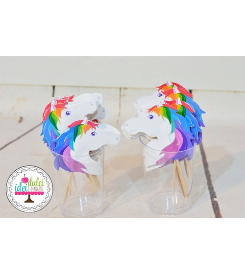 Toppers Unicorni Set x 20