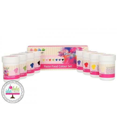 Kit Coloranti Pasta Set x8