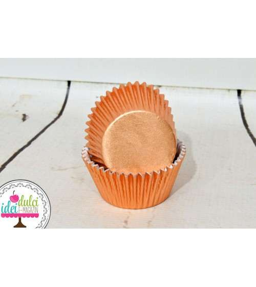 Cupe Cupcakes Bronz Metalic x24