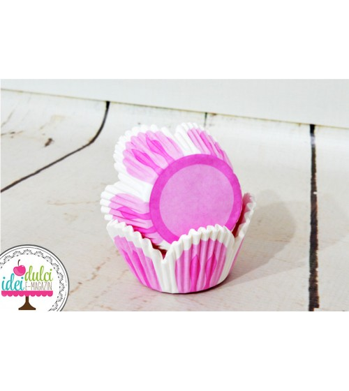 Cupe Cupcakes Lalea Roz x50