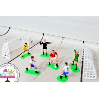 Set decor fotbal x9