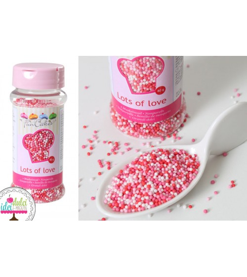 Nonpareils Mix Love 80G